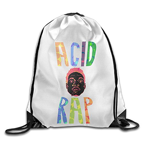 bekey-chance-the-rapper-drawstring-backpack-sport-bag-for-men-women-for-home-travel-storage-use-gym-