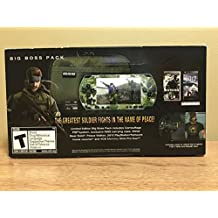 Metal Gear Solid Peace Walker Big Boss Bundle Pack
