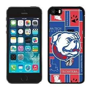 Designer Case for Iphone 5c Ncaa Conference USA Louisiana Tech Bulldogs 4 Cheap Perfect Phone Deals Accessories