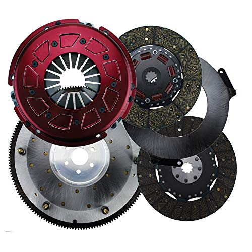 Ram 60-2240 Pro Street Dual Disc Clutch System Size 10.5 157 Tooth Count 10 Spline By 1 1/16 in. 50 oz./in. Balance Incl. Flywheel/Disc/Pressure Plate Pro Street Dual Disc Clutch -