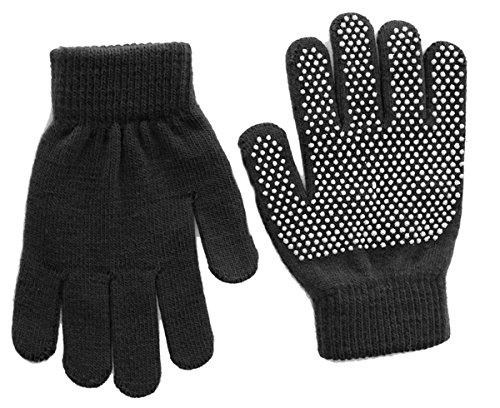 Childrens Magic Gloves (Magic Childrens Grippy Gloves in Black, size: One Size)