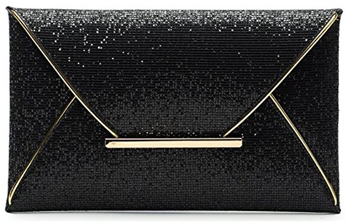 Sequined Clutch Purse - 8