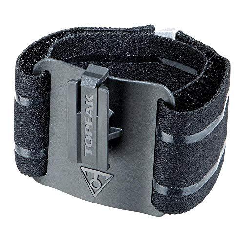 Topeak Ridecase smartphone-armband, volwassenen, uniseks, zwart, 17-45 cm polsomvang