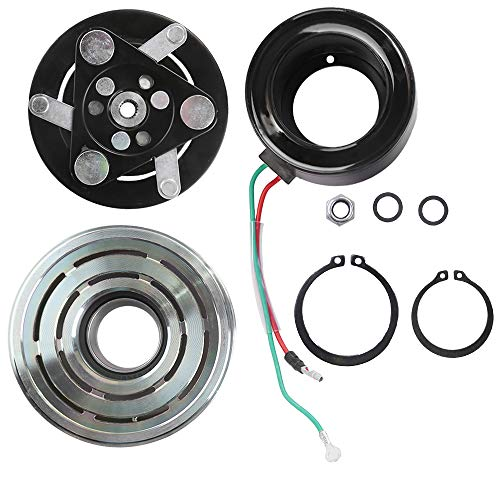 AC Compressor Clutch Assy for Honda CR-V Civic Acura ILX RDX Air Conditioning Repair Kit Plate Pulley Bearing Coil ()