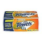 Member's Mark Super Premium 2-Ply Paper Towels (15 Rolls, 146 Sheets per Roll)