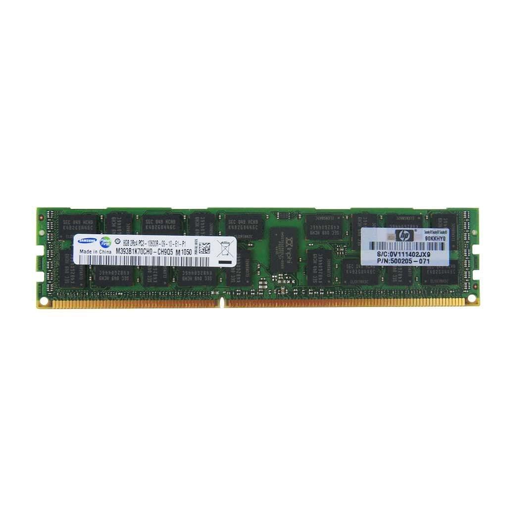 HP 8GB (1X8GB) 2RX4 PC3L-10600R-9 MEMORY KIT 647897-B21 Registered Server Memory (Certified Refurbished)