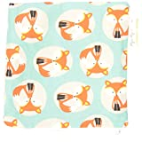 Itzy Ritzy Snack Happens Reusable Snack and Everything Bag, Little Fox