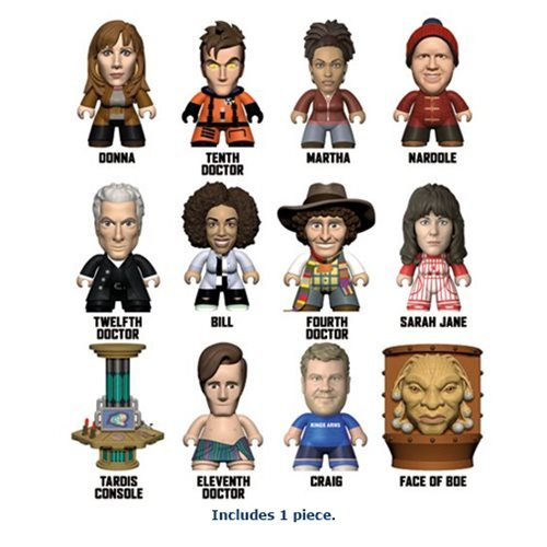 Doctor Who Partners in Time Titans Random Mini-Figure - Noble Mini Blind