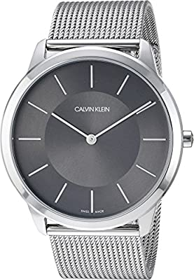 Calvin Klein Mens Minimal Extension Watch - K3M2T124