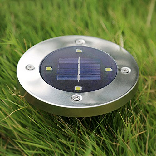 Outdoor Ground Lights Solar lights outdoor ground lightspoppap 4 led waterproof path solar lights outdoor ground lightspoppap 4 led waterproof path garden landscape up lighting yard driveway workwithnaturefo
