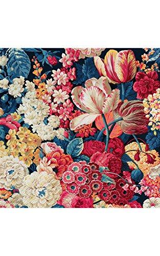 Abbott Collection 88-L/055600 Lg Flower Splendor Napkin-20PK, 6.5 inches square, multi