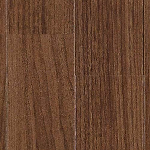 クッションフロア ウォールナット 切売り sincf-wallnat-182 (Sin) 182cm幅×8m E2204 (ダークブラウン) 木目 ブラウン 茶色 日本製