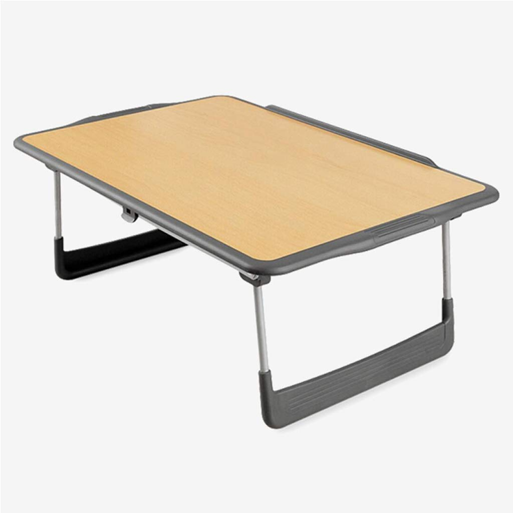 Dongy多機能折りたたみラップトップデスク、子供用の小さなダイニングテーブル、ベッドの上の小さなテーブル B07T3BCHGD