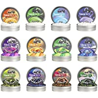 12 Pack Crazy Aarons Thinking Putty Mini Tins