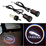 WONFAST® For JAGUAR Car Auto Laser Projector Logo Illuminated Emblem Under Door Step courtesy Light Lighting symbol sign badge LED Glow Performance