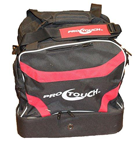 PRO TOUCH Sporttasche Pro Bag Jr. Classic Schwarz/ Rot-onesize