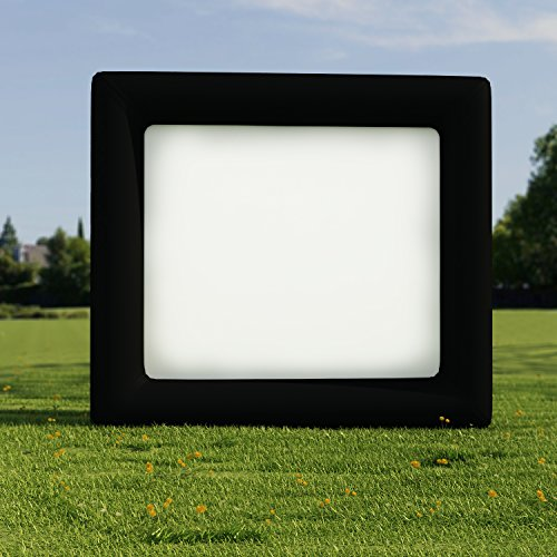 Kemanner Outdoor Inflatable Movie Screen for a Backyard Theater Projection Screens (US STOCK) (Inflatable Television Screen)