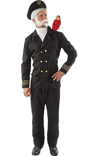 a0985887f Mens Captain Birdseye Novelty Sea Sailor TV Fancy Dress Costume ...