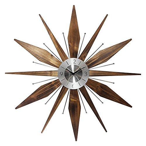 Infinity Instruments Utopia 30W x 30H in. Wall Clock 51EkFPkWcML
