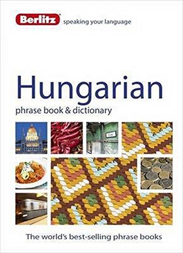 Berlitz Language: Hungarian Phrase Book & Dictionary (Berlitz Phrasebooks) [Berlitz Publishing] (Tapa Blanda)