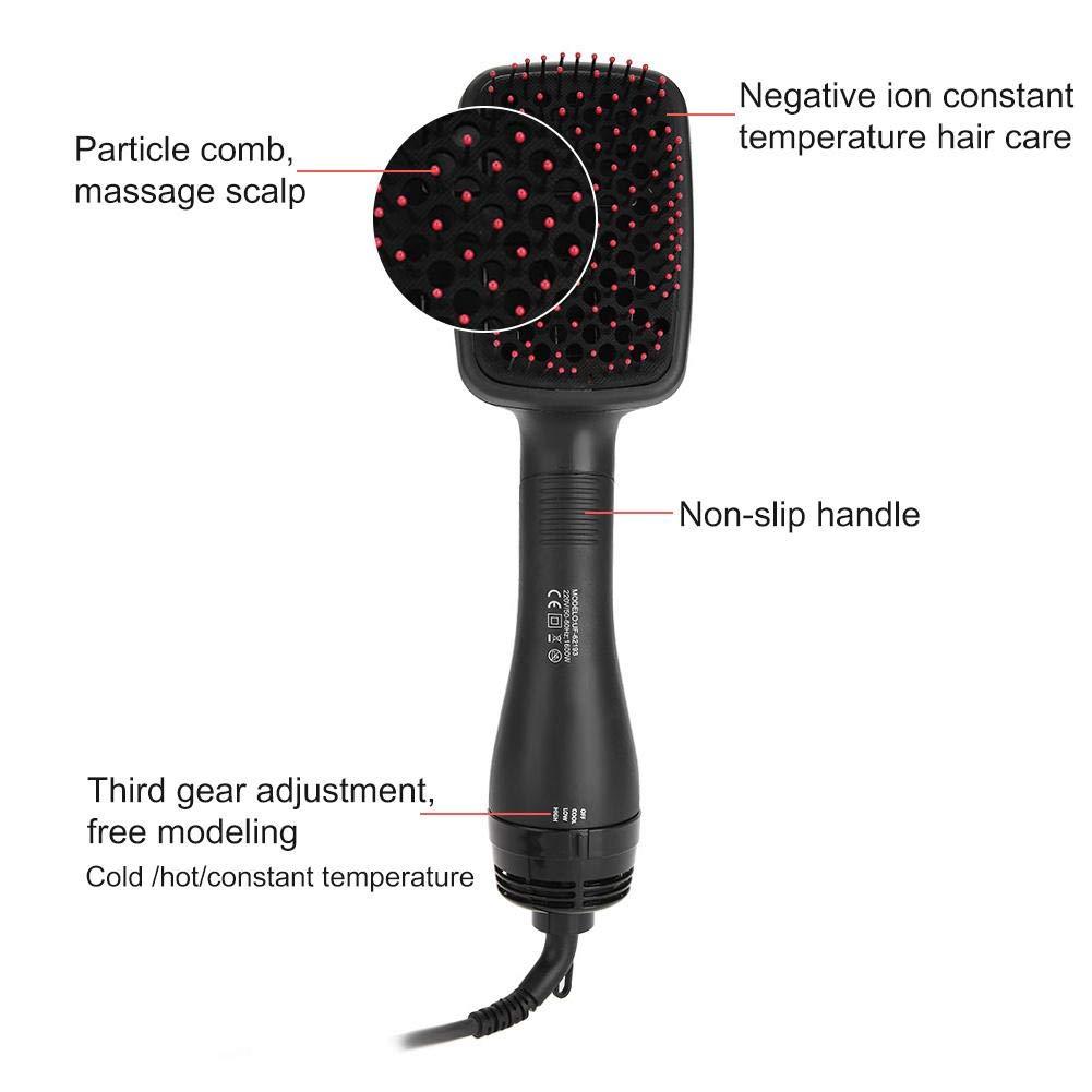Secador de cabello One Step, 2-en 1 Cepillo para alisado ...