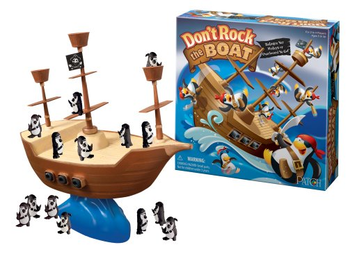 Don't Rock The Boat - Game Balancing Boat