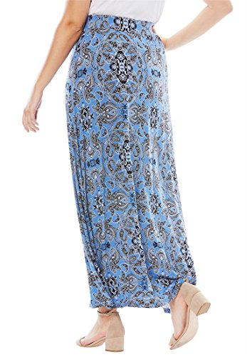 Jessica-London-Womens-Plus-Size-Maxi-Skirt-In-Stretch-Jersey