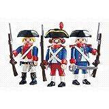 Playmobil - 6436 - 3 Soldats - Emballage Plastique, pas de boîte en carton