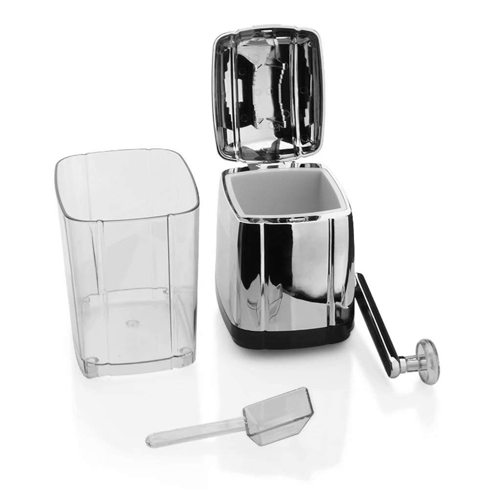 Manual Ice Crusher - Non-Slip - Easy to Use Ice Crusher Hand Crank