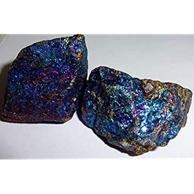 1 Pound Chalcopyrite Peacock Ore A Grade from Mexico Crystal Healing Gemstone Wicca and Reiki Stones Small & Medium Sized Pieces: Toys & Games