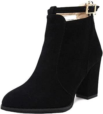 Black Heel Boot For Women
