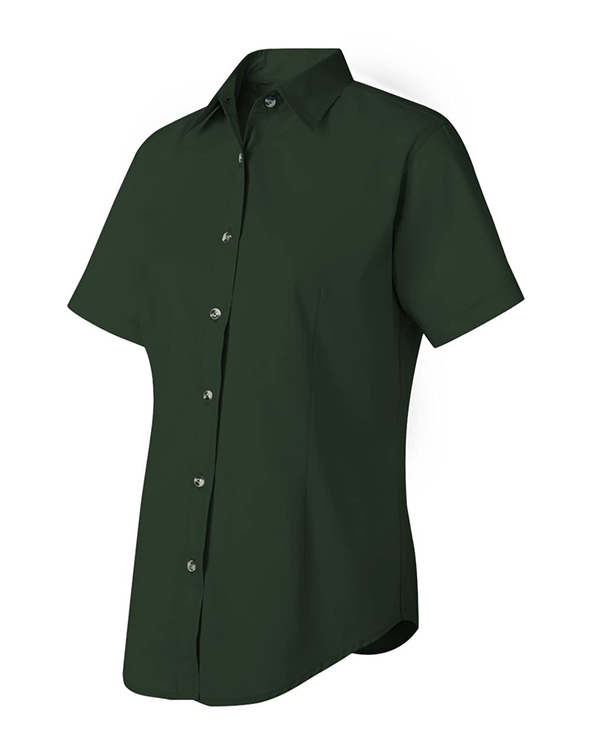 FeatherLite - Women's Short Sleeve Stain-Resistant Tapered Twill Shirt - 5281