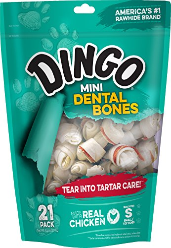 (Dingo Dental Bones Dog Chews)