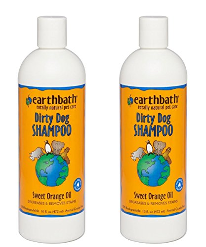 - Earthbath All Natural Dirty Dog Gentle Shampoo Sweet Orange Oil, 16-ounce (2 Pack)
