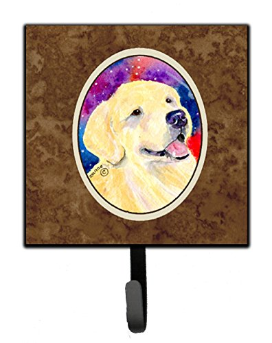 Caroline's Treasures SS8753SH4 Golden Retriever Leash Holder or Key Hook, Small, ()