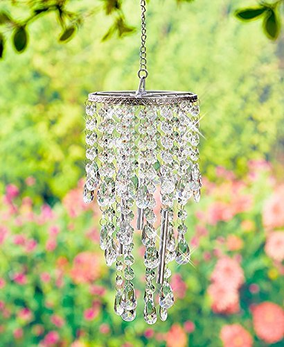 Chandelier Wind Chimes Crystal Clear]()