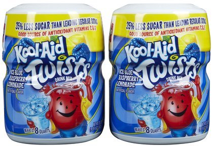 Kool Ice Blue Raspberry Lemonade Drink Mix 20OZ (Pack of 24) by Kool-Aid
