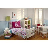 Everything Kids by NoJo Toddler Bedding Set, Hoot Hoot