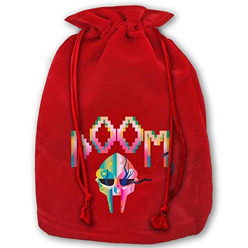 Mf Doom Halloween Costume (Mf Doom Colorful Drawstring Christmas Gift Sacks Made Of Pleuche And Sponge Velvet By Gift Boutique)