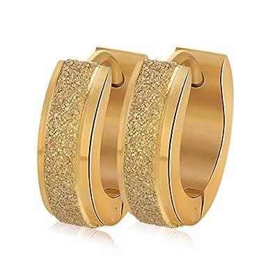 64d572bdc Chryssa Youree Stainless Steel Womens Hoop Earrings for Men Huggie Ear  Piercings Hypoallergenic 20G (ED