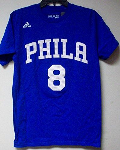 【美品】 Philadelphia 76ers 76ers # Small 8 OkaforブルーAdidas Player # Tシャツ Small B06XB1DCL6, SENEN ZAKKA:751536cb --- a0267596.xsph.ru