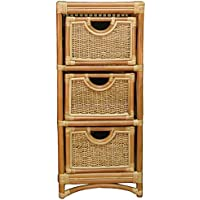 Spice Islands 3 Drawer Unit, Natural