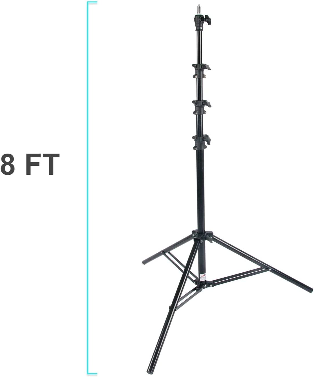Black GTX Grip Light Stand Q Series 95 -4 Section 2420mm GP-QLS95//AC