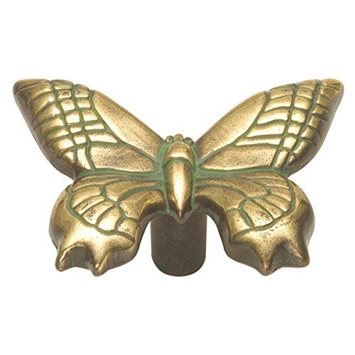 Hickory Hardware PA1513-VA 1-15/16-Inch South Seas Cabinet Knob, Verde Antique