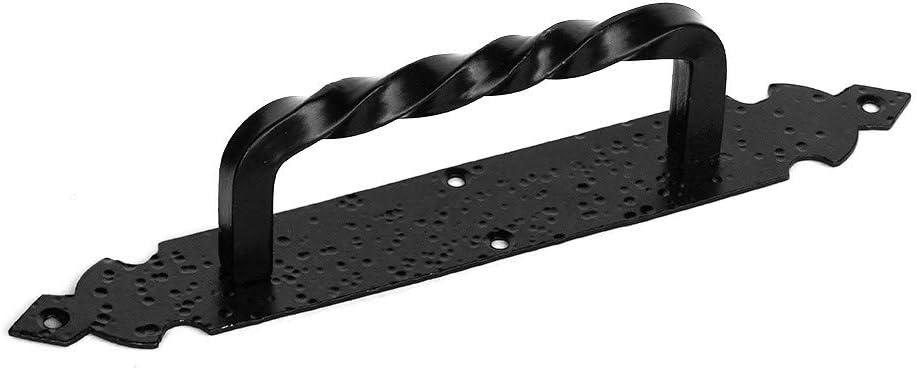 Tirador puerta 275mm forja negro: Amazon.es: Bricolaje y herramientas