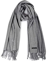 Cashmere Scarf,Winter Solid Color Unisex Women's Scarves,Warm Wraps Shawls