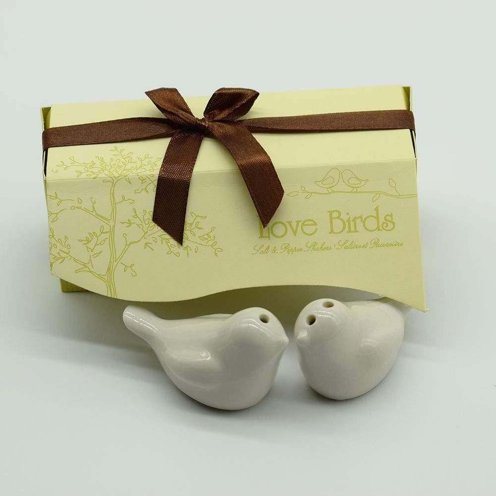 Amazon 40pcs20sets Love Bird Salt Pepper Shakers Wedding