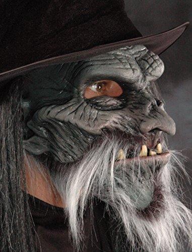 Zagone Howl O Ween Mask, Brown Werewolf, Manwolf, Animal