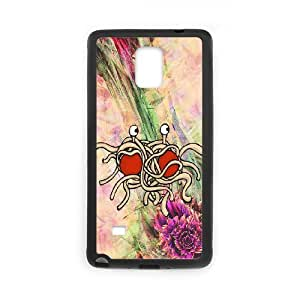 Samsung Galaxy Note 4 Phone Case With Flying Spaghetti Monster Images Appearance