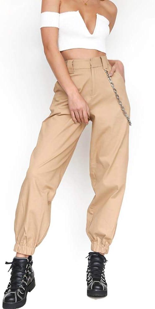 Ruimin Harem Baggy Pantalones Para Las Mujeres Adolescentes Chicas Casual Hip Hop Baile Jogging Pantalones Pantalones Pantalones Pantalones Con Cadena De Bolsillo Amazon Com Mx Ropa Zapatos Y Accesorios
